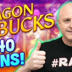 🐲 Dragon Bucks Aristocrats Slot Jackpot! 🐲 Rare High Limit $40 Dragon Bucks Spins in Atlantic City